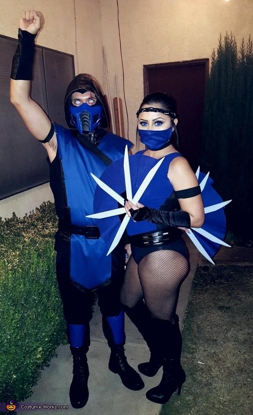 Sub Zero And Kitana Costume