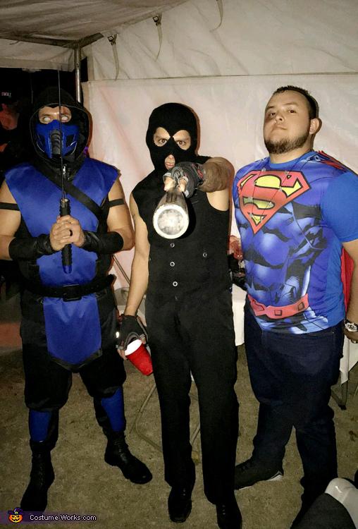 Sub Zero And Kitana Costume Photo 3 3 & Costume Idea Database - Meningrey