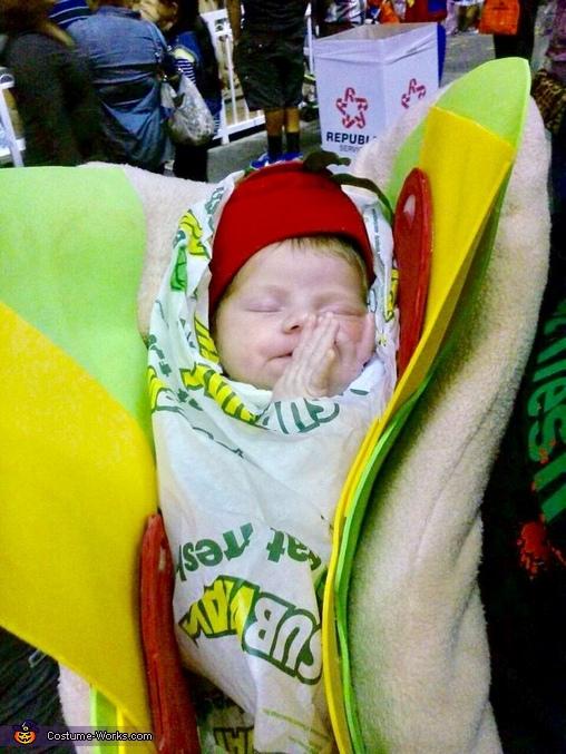 Subway Sandwich Homemade Costume