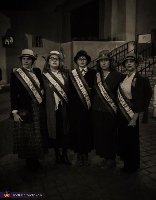 Suffragettes Costume