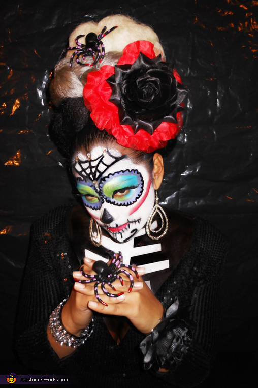 Sugar Skull - Homemade costumes for women