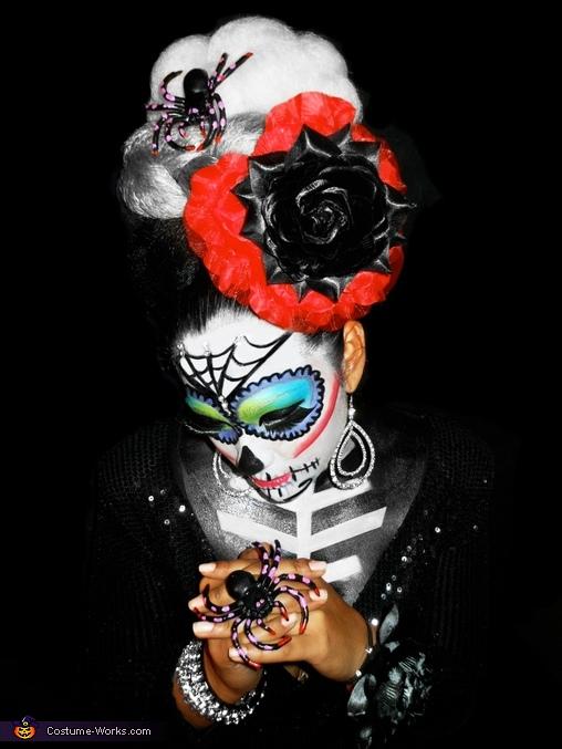 sugar skull, Sugar Skull Dia De Los Muertos Costume