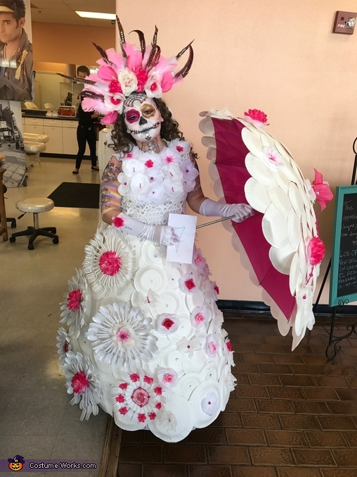 Sugar Skull Homemade Costume