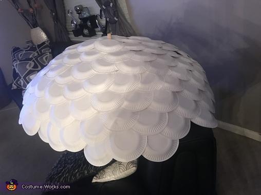 This is the umbrella, Sugar Skull Costume
