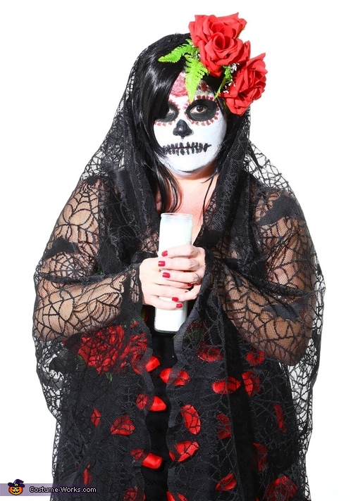 Sugar Skull Day of the Dead Costume