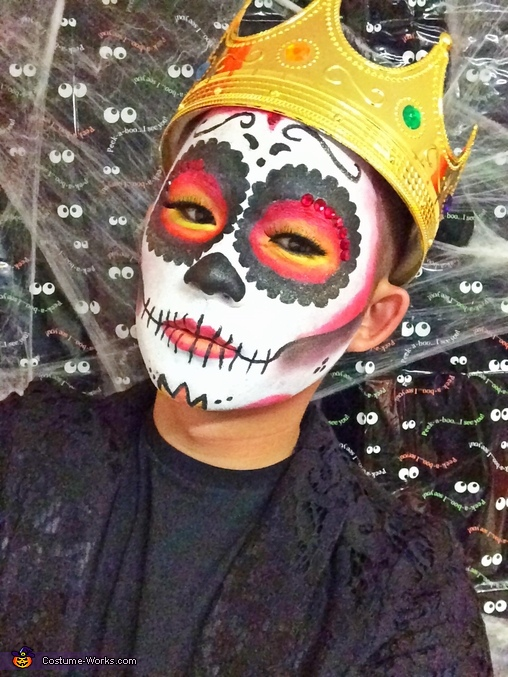 Sugar Skull Queen Costume