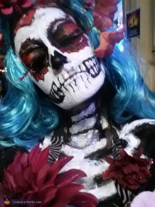 Sugar Skull Skeleton Costume