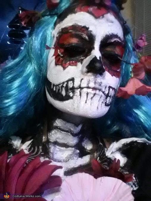 Sugar Skull Skeleton Homemade Costume