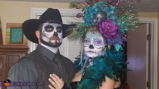 sugar skull love :), Sugar Skulls Costume