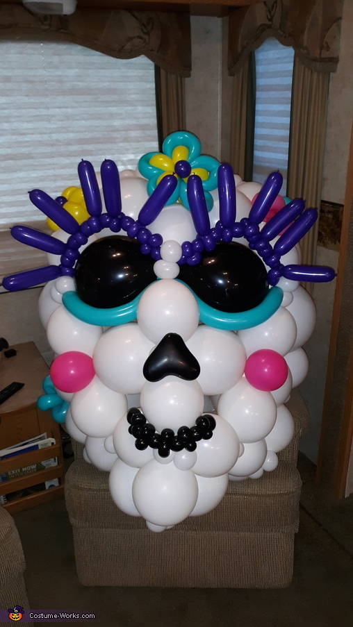 Sugar Skulls Homemade Costume