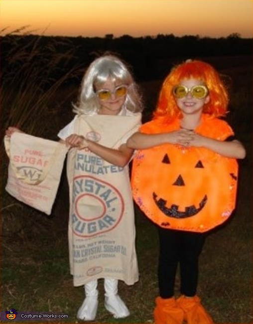 Sugar Cookie - Homemade costumes for girls