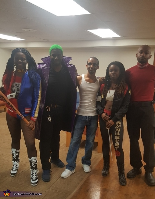 Squad again, Suicide Squad Group Costume