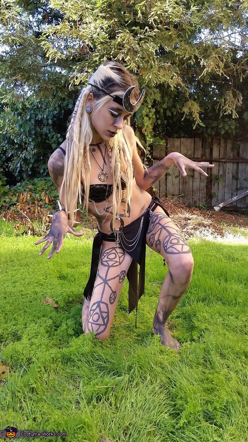 Suicide Squad Enchantress Homemade Costume