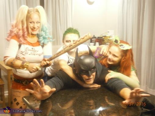 Suicide Squad DC vs Marvel Group Costume
