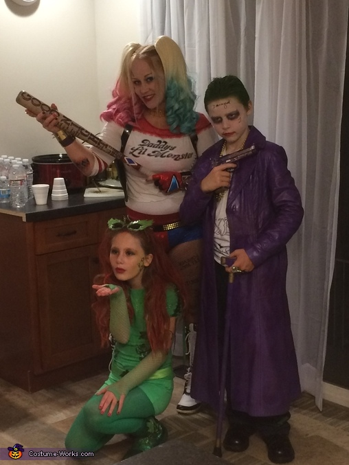 DC vs Marvel Suicide Squad Group Costume