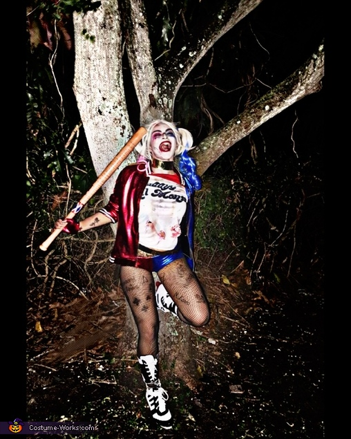 what was that? hahahaha. The voices., Suicide Squad Harley Quinn Costume