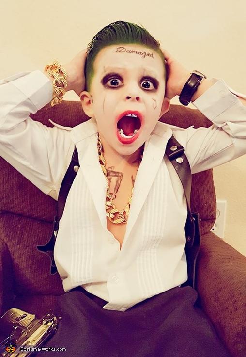 AH HA HA HA HA HA HA HA!!!, Suicide Squad Joker Costume