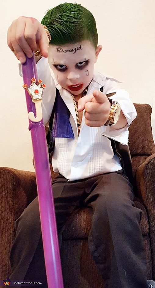 King of Gotham, Suicide Squad Joker Costume