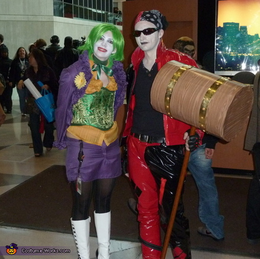 Suicide Squad Joker and Harley Quinn Costume