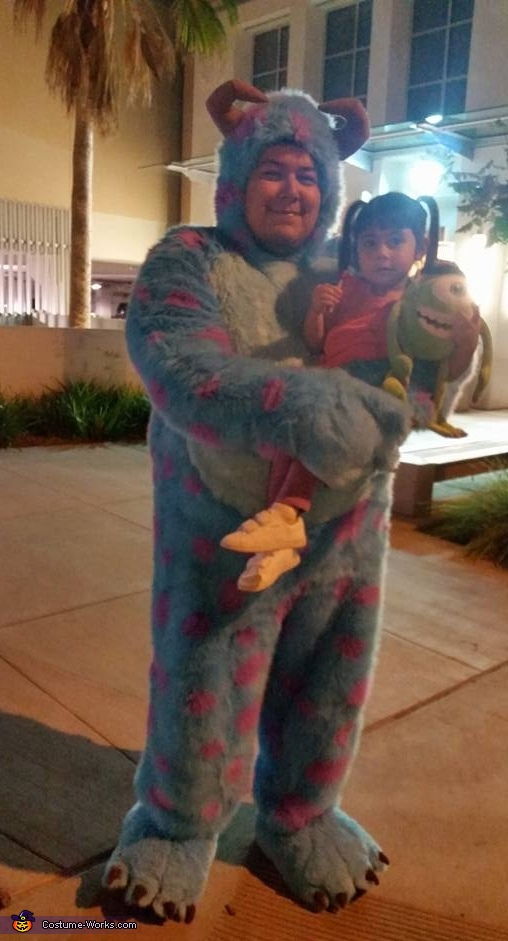 Sulley Costume