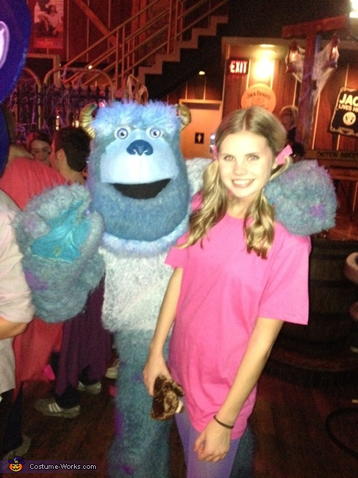 Sulley and Boo out , Sulley and Boo from Monsters Inc. Costume