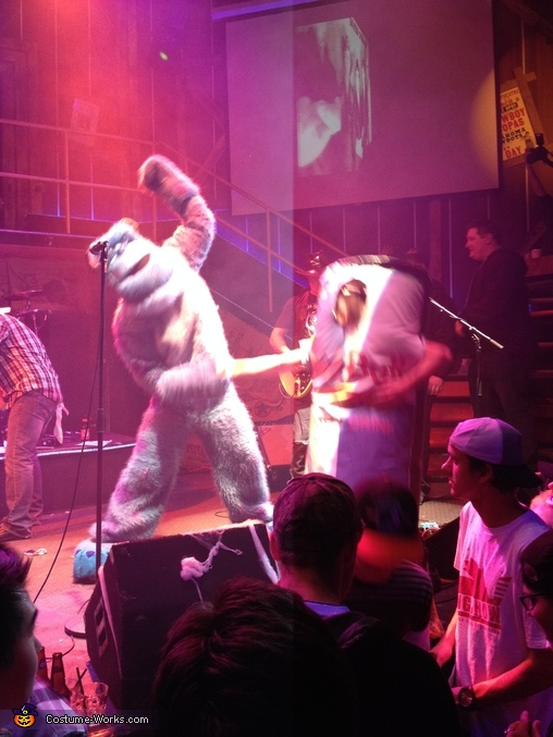 Sully dancing on stage, Sulley and Boo from Monsters Inc. Costume