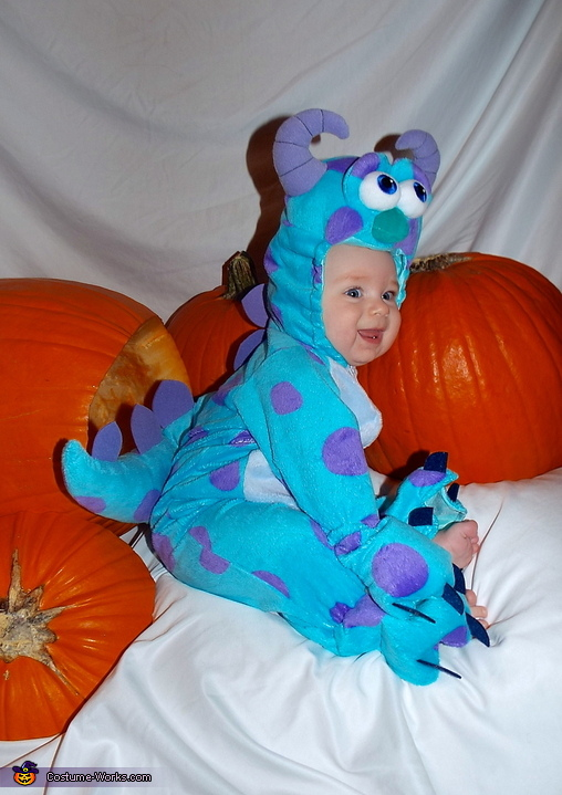 Sully from Monsters Inc. Baby Costume