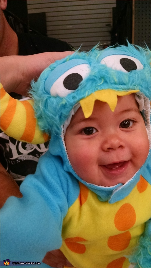 So excited to go make everyone fall in love with cute little monsters!!, Sully Little Monster Costume