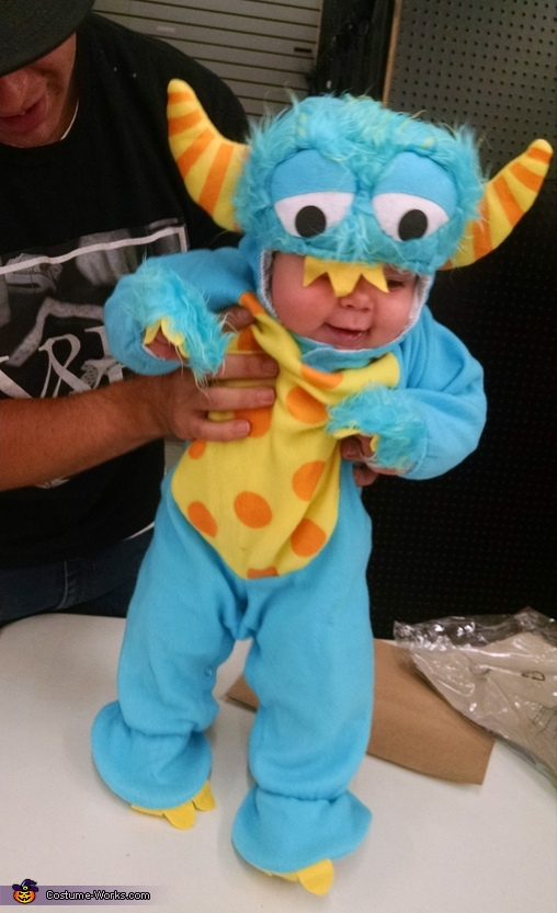 Sully Little Monster Costume