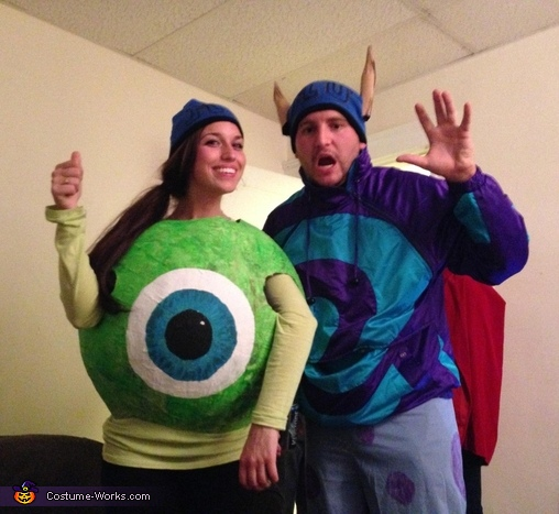 Sully & Mike Wazowski Costumes