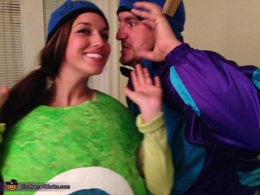 Rawr!, Sully & Mike Wazowski Costumes