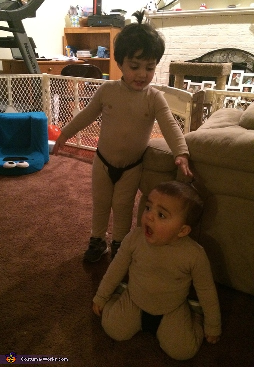Sumo Brothers Costume