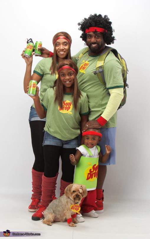 Sun Drop Family Costume
