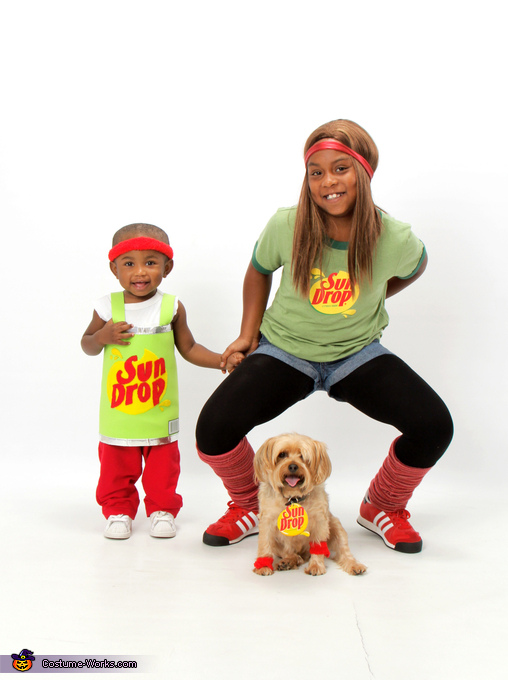 Sun Drop Family Costume