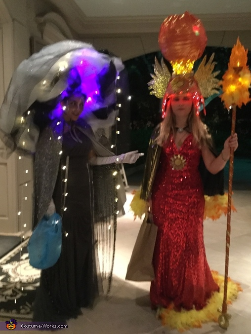 Sun Goddess and Storm Goddess Costume