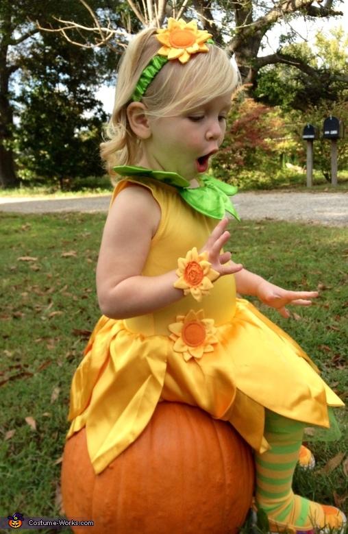 Sunflower Costume for Girls