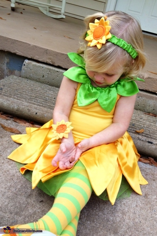 Sunflower Costume for Girls