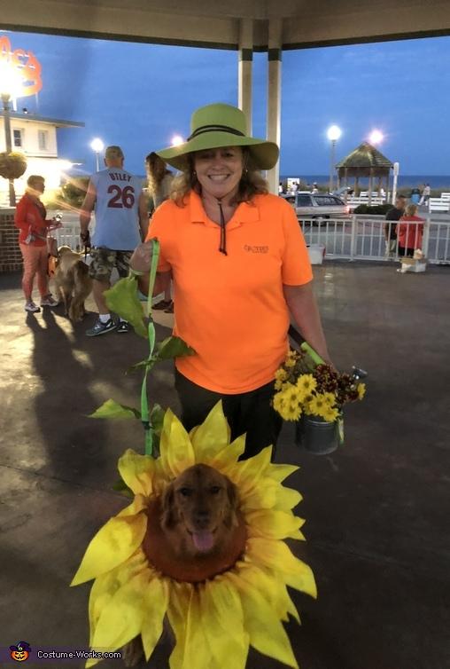 Sunflower Harvest Costume