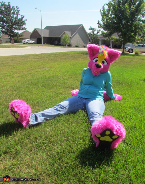 Sunnie the Perky Pink Puppy Costume