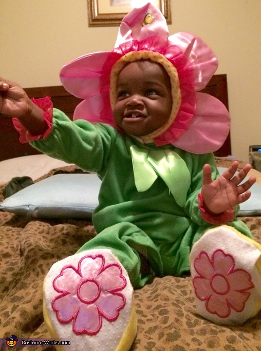 Sunny Pink Flower Costume