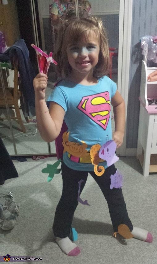 Super Aqua Girl Costume