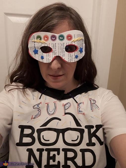 Super Book Nerd Costume