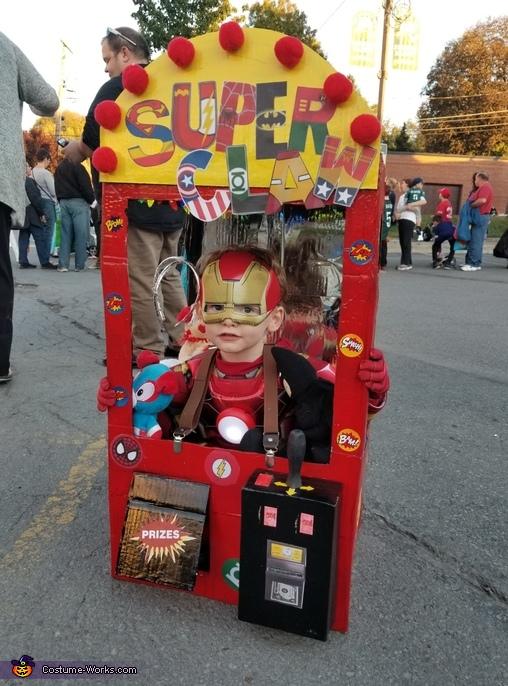 Super Claw Costume