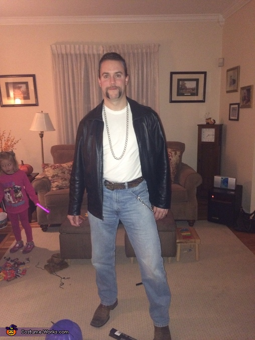 Super Creepy Rob Lowe Costume