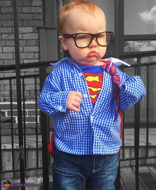 baby Clark Kent, Super Family Costume