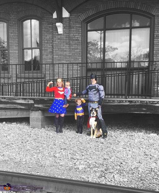 Super family 3, Super Family Costume