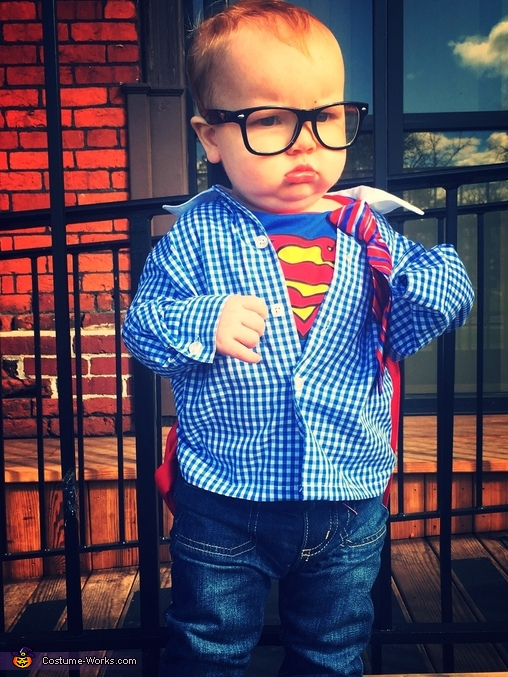 baby Clark Kent 2, Super Family Costume