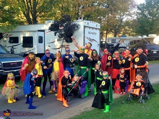 Super Friends Group Costume