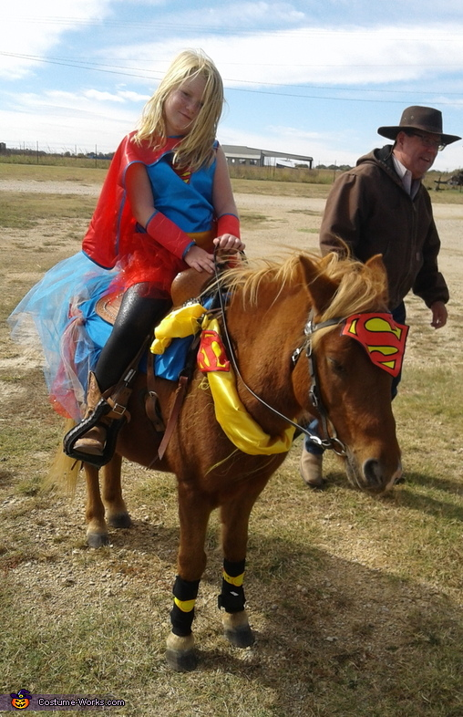 Super Girl and Super Pony Costume