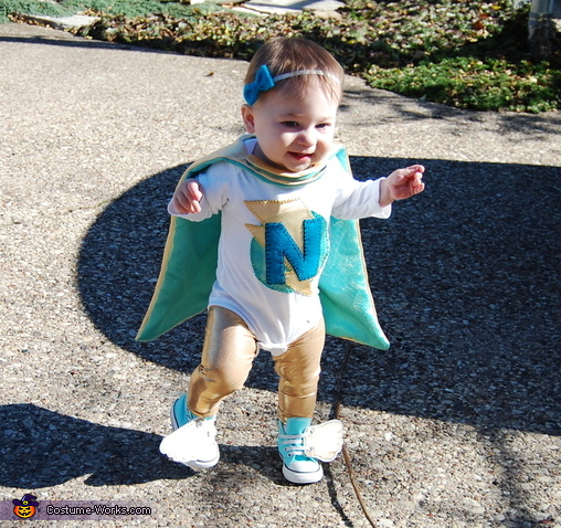Super Hero Baby Costume